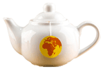 Time for change teapot