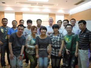 Staff of the Catholic Centre in the Diocese of Liaoning