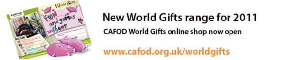 CAFOD World Gifts
