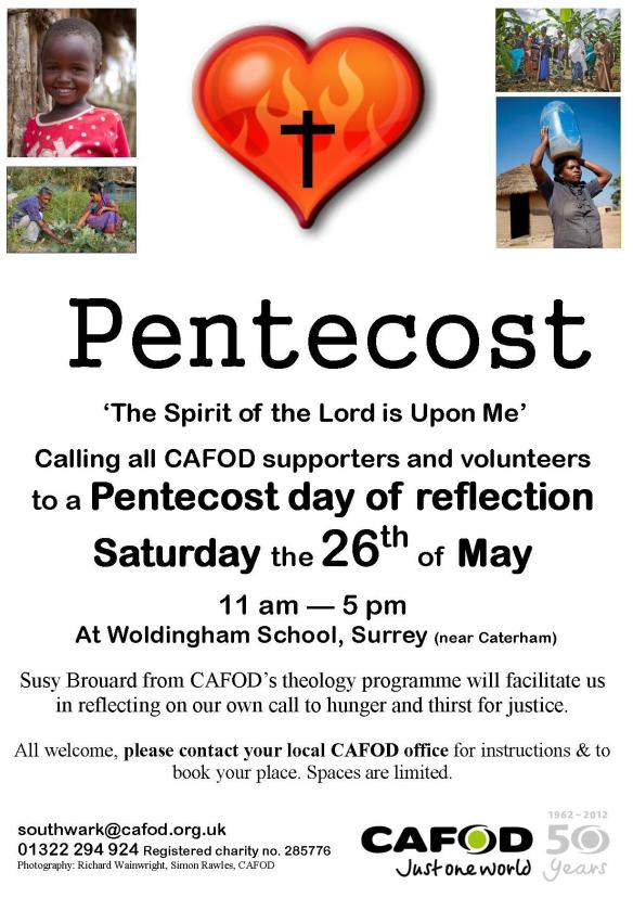 Pentecost Reflection Day Poster