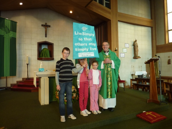 St James the Great, Petts Wood Live Simply Banner
