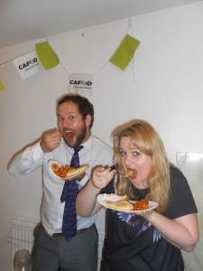 Curry and CAFOD...a perfect combination!
