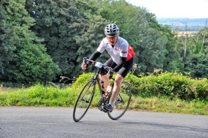 Photo 1 - James Gurney from Rochester is cycling the RideLondon for CAFOD