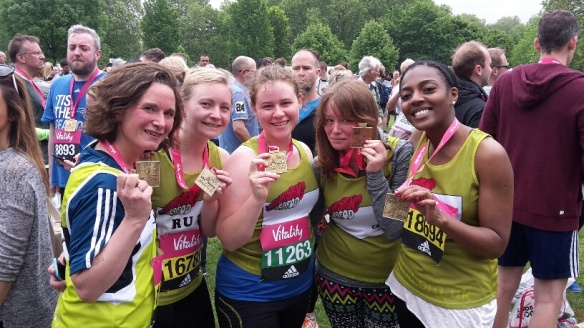 Jo and team complete 10k run