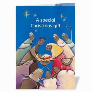 CAFOD World-Gifts Christmas Card - Ethical last minute Christmas Gift