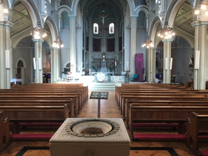 The magnificent Sacred Heart Church (Photo: CAFOD)
