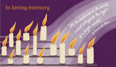November is CAFOD's month of remembrance