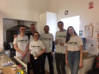 Parish volunteers from Christ the King who helped to put on the soup lunch.