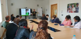 New CAFOD volunteers discovering how to have a global impact with a local volunteering in their own parish