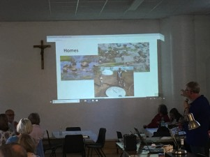 During the fundraising event parishioners heard about the devastation caused by Cyclone Idai in Mozambique.