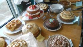 Cakes from a CAFOD Bake-Off Fundraiser