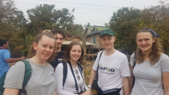 All the 2020 CAFOD gapppers