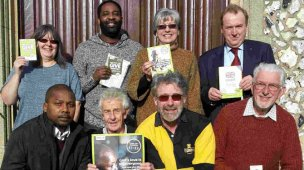 Andy Wansbury in Bexley with other CAFOD volunteers at Lent 2018